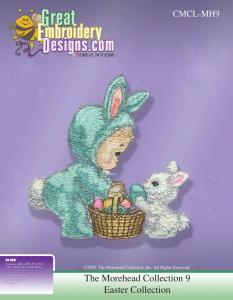 Great Notions 112173 MH9 Morehead Licensed Collection Easter Multi-Formatted CD