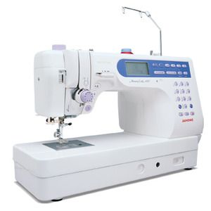 "Janome, MC6500P, mc6600, janome 6600, janome 6500, 135 Stitch, Workhorse Sewing, Quilting Machine, 6500, 7BH, 2 Font, 9x5"" Arm, Table, Thread,Trim, Needle,Up, Down,1000 SPM, Speed Limit, Knee Lift"