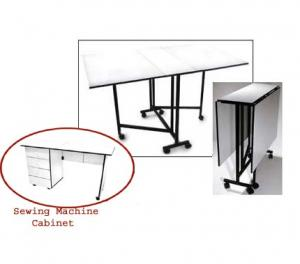 Sullivans, Sewing Furniture, Combo,: 12570, Hobby, Cutting Table, PLUS 12575, Sewing Machine Cabinet