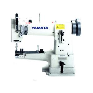 "Yamata, FY335A, FY 355A, Cylinder Bed, Compound Feed, Heavy Duty, Lockstitch Sewing Machine,Pfaff 335, Yamata FY355A 10"" Arm, 50mm Cylinder Bed Walking Foot Needle Feed Industrial Sewing Machine 1/2"" Lift, 4SPI, Reverse, Power Stand 2500SPM, 100 Needles"