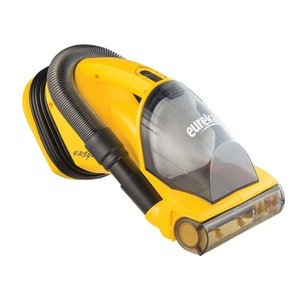 Eureka 71A, 71B, Handheld Lightweight Bagless Vacuum Cleaner, Powered Brush Roll, Riser Visor, 3:1 Stretch Hose & Crevice Tool
