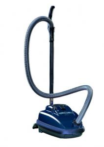 "SEBO Air Belt K2 9679AM Midnight Blue Canister Vacuum Cleaner, Variable Suction 11""W 1250W 10.6A 120CFM 110""Lift 63dB HardFloor RugNozzle. 5YrExtWnty*"