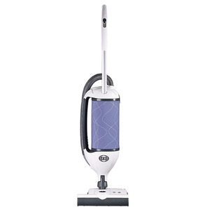 "SEBO, 9806AM,, Felix Ice Blue, Upright Vacuum Cleaner, 12"" Path, Swivel Neck, 12A,1475W, 102 CFM, 90""Lift, Parquet Brush, Crevice Tool, Variable Speed, Telescopic Handle, 4 carpet Heights"