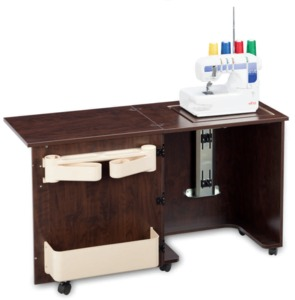 Shown in Brown Pearwood Serger Not Included