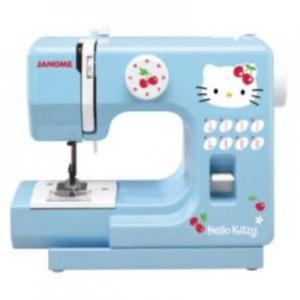 Janome, Hello Kitty, 11702, 1/2 Size, Sewing Machine, with AC/DC adapter