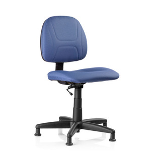 "Reliable, SewErgo, Ergonomic, Sewing, Operator, Chair, Height Adjustment,  for Home and Industrial Sewing Machines (with Power Stands) - Made in Canada, Reliable SewErgo Operators Non Roll Swivel Chair, 16-21"" Adj Height, Lumbar Support, 5 Floor Glides, for Sewing  Knitting Machine Stand Table Cabinet"
