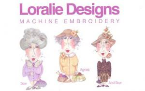 Loralie  Grannies 630293 Jumbo Embroidery Designs on Multi-Formatted CD