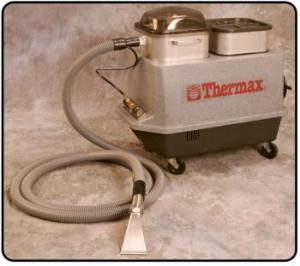 Thermax, CP5, Base Unit, with 15' Hide-A-Hose, and Built On, Easy Grip, Stainless Steel, Detailer