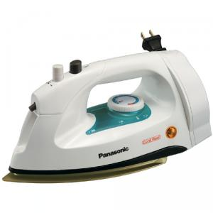 Panasonic, NI-G10NR, NIG10NR, Steam, & Dry Iron, 1200W, Retract Cord Reel, Heel Rest, Adjustable, Variable Steam, Spray Mist, 3 Way Auto Shut Off, Non Stick Soleplate