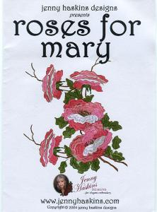 Jenny Haskins Roses for Mary Designs Multi-Formatted CD