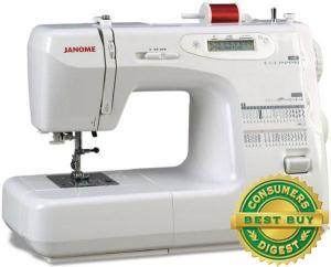 Janome Sew Precise Computerized LCD  Mechanical 37 Stitch Sewing Machine - Factory Serviced
