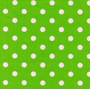 Fabric Finders 15 Yd Bolt 9.99 A Yd 406 Lime Green With Pink Dot Pique100% Pima Cotton 60 inch