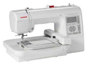 "Janome, Memory Craft, MC200E, 5 x 5"" inch Hoop, & Grid, Embroidery Machine, MC 200E, 73 Designs, 3 Fonts, USB  MEMORY STICK DRIVE, 650SPM, 25/5 Yr Ext Warranty"