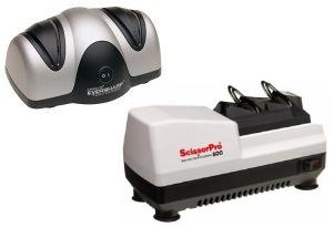 Chefs Choice Edgecraft 500 Electric SCISSORPRO Scissors Shears Trimmer Sharpener &amp; Presto 08800 Electric Knife Sharpener