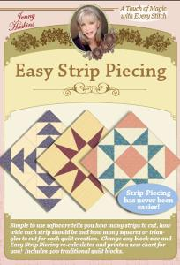 Jenny Haskins Easy Strip Piecing Quilting Software