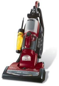 Eureka 5902BVZ RB Boss 4D Bagless Upright True HEPA Vacuum, VARIABLE SPEED On/Off Brush Roll, 15&quot; Wide Path, Spinduster &amp; Power Paw, Refurbished