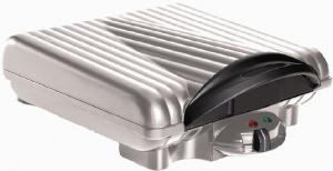 "Cucina Pro 1452 4 Square Belgian Waffle Iron, Bakes Four 4.5""  Inch Waffles, Stands upright for compact storage"