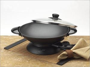 Aroma AEW-306 5 Quart Die Casting Electric Wok