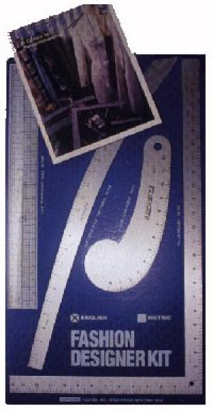 M Lance BCC-i, Fairgate Rulers, 15-102, Fashion Designers, Pattern Kit, 15102, - 4 Metal Rulers, in INCHES, and 20 Page Book, Fairgate 4 Rulers INCHES Set, 15-102 Fashion Designers Pattern Kit 15102, 3 x 24&quot;Aluminum &amp; 1 x12&quot; Plastic Ruler , 20 Page Guide to PatternMaking Book