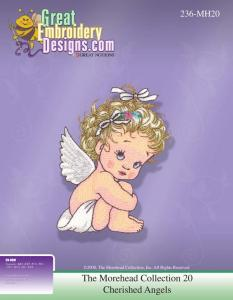 Great Notions 112197 MH20 Morehead Cherished Angels Multi-Formatted CD Embroidery Designs