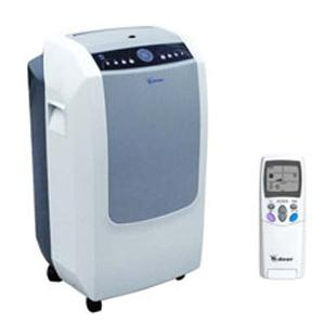 Deer Evaporative, 12,000 BTU, Portable, Air Conditioner, Dehumidifier, Fan, 9A 950W, Works 62-110F, Carbon, &amp; Wash Air Filters, 400 Sq Ft,, 68 Lb, 15x16x30&quot;H