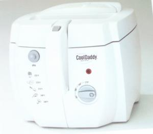 Presto 05443 CoolDaddy Cool Touch Deep Fryer