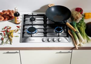"Miele KM360G 24"" Gas Cooktop (Linear Design)"
