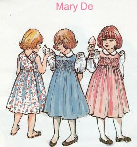 Childrens Corner Mary De Pattern