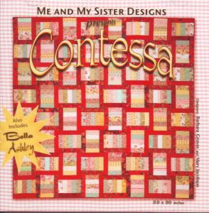 Me and My Sister Designs Contessa Quilt Pattern CD, 80 x 80 Inches 2 Bonus Designs