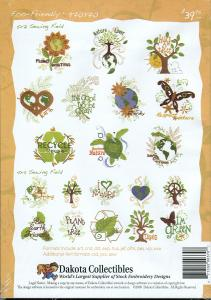 Dakota Collectibles 970370 Eco-Friendly Embroidery Designs Multi-Formatted CD