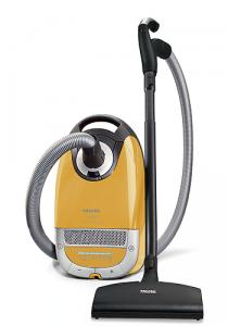 Miele, S5381, Leo, Yellow, HEPA, Canister, Vacuum Cleaner, Powerbrush SEB-236, 1200W, Suction Control, 33' Foot Radius, 5 Qt Bag Change Indicator, 20 Pounds