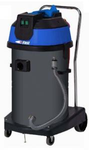 "Fast-USA, Work Horse 6.0, 63.4 Quart, Wet Canister, Vacuum Cleaner,  2 x 1500W, 106"" Water Lift, 126 CFM, 70 dB, Telescopic Wand, On Off, Like Oreck, NETHERLANDS"