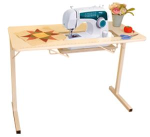 "Brother, XL2600i, Auto Thread, 1-Step Buttonhole, Drop In Bobbin, SEWING MACHINE, Arrow 98601,Gidget, 40x20"", Folding Wood, TABLE, & Steel Legs"