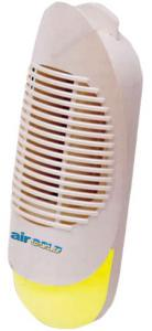 Koolatron,  XJ202W-M, Lentek, Air Gold, Plug In, Ionic Air Purifier, Cleaner, & Deodorizer, Silent, LED Night Light, Booster, for Stronger Odors