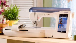 "Brother, NV2800D, Innovis, 2800D, babylock ellageo plus BLL2, 314 Stitch, 419 stitch, Sewing, & 6 x 9"" hoop, Embroidery, USB, Memory Stick & Card Machine, 129 Disney, 13 Fonts,  Auto Foot Lift, Pivot, Quilting UPG"