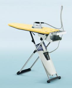 "Laurastar, S4E, Steam Generator, Iron, 2 Speed, Vacuum, & Blowing, Ironing Board 54x17"", 6 Height Pos, 3.5 Bar 50PSI, 2200W, Scale Filter, Hot Iron Store, SWISS"