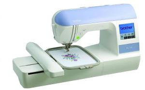 "Brother, RPE770, PE770, pe770 fs, pe-770, brother pe-770, brother pe770, 5x7"" hoop Embroidery, USB, Card Machine, Memory Stick, Compatible, 650 SPM, 136 Designs,  6 Fonts, 120 Border Frames, 3700 Designs, Format, & Color Convert, PE700 750 780, pe--770usb, Brother RPE770 FS & 10 FREEbies* 5x7"" Embroidery, USB Stick & Card Machine, Touch Screen, 136 Designs, 6 Fonts, 120 Border Frames, Trimmer, Threader"