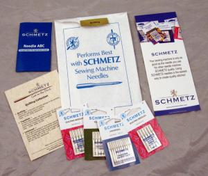 Schmetz, C-QUILT, Needle Collection, 130/705, HAx1, 15x1, 10 Quilting, Size 75/11, 90/14, 10 Universal, 70/10, 80/12, 90/14, 5 Topstitch, 100/16, Brochure, Bag