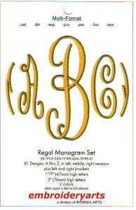 Embroideryarts Regal Embroidery Multi-Formatted CD