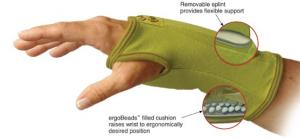 Creative Comfort CC82310 Ergonomic Crafters Comfort Glove LARGE, for Home or Commercial Sewing Cutting Quilting Embroidery Crafts Upholstery Knitting