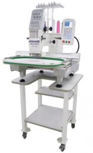 Ricoma, RCM-0601PT, 6 Needle Embroidery Machine, 1M Stitch, USB Port, 11 Hoops to 22x16&quot;, 270 Cap Eq, Trim, 1000SPM, DISC, 8000 CD, Stand, 200Lb