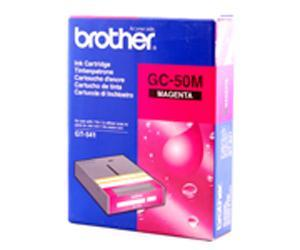 Brother, BGC5000M5010002, Magenta Ink Cartridge, GC-50M, 500CC, for Brother GT-541, Direct to Garment Printer, GT541