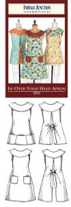 Indygo Junction IJ836  In-Over-Your-Head Apron Pattern
