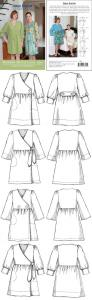 Indygo Junction IJ840  Modern House Coat Pattern