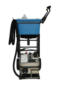 Euro Steam, ES4500G, Dry Vapor, 6% Water, Steam Cleaner, 185-316°, Stainless Steel, 12' foot Hose, Gold Package, Cart, Bucket, Tool Caddy, 12 Towels, 16 Brushes, Vapormate