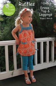 Olive Ann Designs OAD63 Ruffles Pattern
