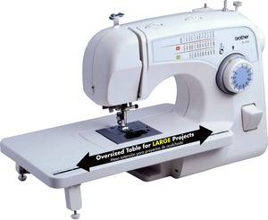 Brother, XL-3750, XL3750 , XL3510, XL-3510, 35/,73 Stitches, FreeArm, Sewing, Quilting Machine, XL3750, 1-Step BH, Free Motion, Walking Foot, Top Bobbin, Threader, Cutter, Extension Table, Soft Case, 7 Feet, 12 Lb
