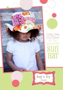 Izzy & Ivy Designs  Sally Sells Sea Shells Hat Pattern