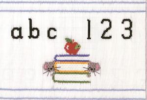 Little Memories Teacher's Pet LM149 Smocking Plate