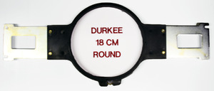 "Durkee PR18, 18cm,   (6 3/4"" Diameter), Round, Embroidery Frame, Hoop & Bracket, for Brother PR600, PR620, PR650, PR1000, BabyLock, EMP6, BMP8, BMP9, ENT10"